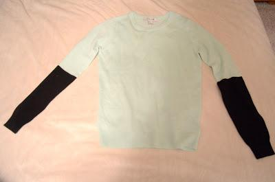 mint sweater, forever 21