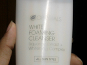 Oriflame Optimals White Foaming Cleanser Review