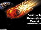 Alexa Ranking Dropping Like Meteorite Earth