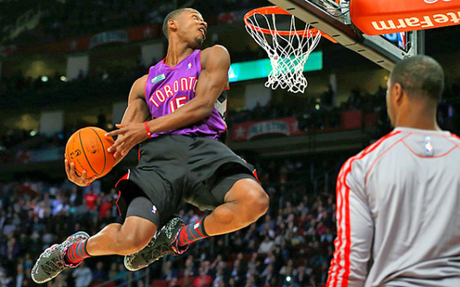 the latest 27626 4590c Terrence Ross Wins the Sprite Slam Dunk Contest In A Vince ...