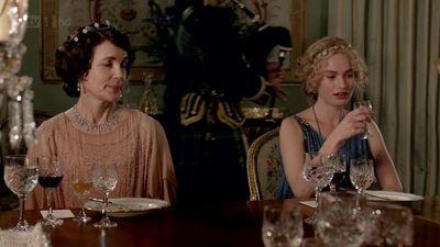 Cora and Rose downton abbey, downton abbey christmas special, downton abbey season 3