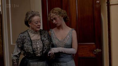 rose downton abbey, rose and the countess grantham, dowager countess, dowager grantham