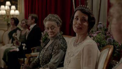 Cora grantham, cora downton abbey, downton abbey jewelry, cora downton abbey tiaras