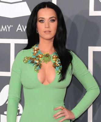 Katy Perry Inspired Grammy Makeup Tutorial-Mint Green Eyes