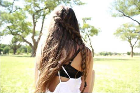 long hair braid