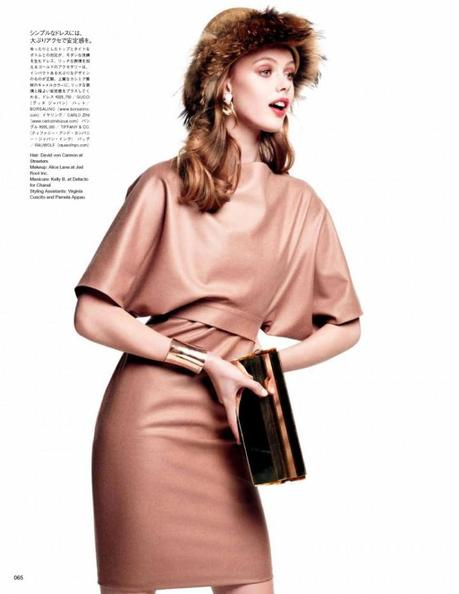 Frida Gustavsson by Victor Demarchelier for Vogue Japan August 2012 6