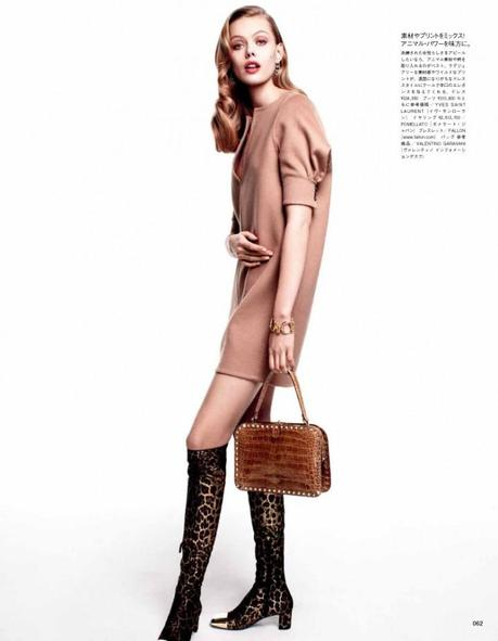 Frida Gustavsson by Victor Demarchelier for Vogue Japan August 2012 5