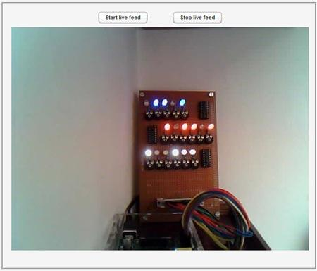 Raspberry Pi GPIO Control Center - Live Feed Module