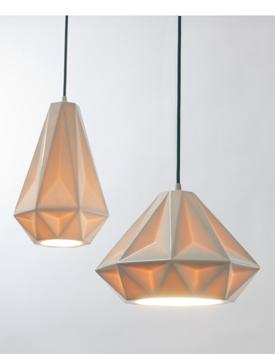 Indie pendant lights paperblog white ceramic porcelain pendant light aloadofball Image collections