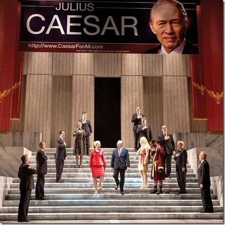 David Darlow and Barbara E. Robertson - Julius Caesar, Chicago Shakespeare Theatre