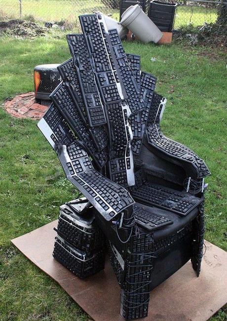Keyboard Throne of Nerds