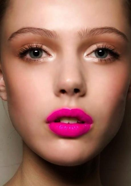 beauty trend [pink lips]