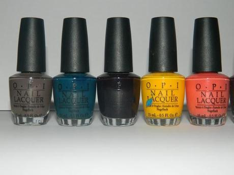 My OPI Collection