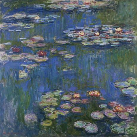 Claude Monet - Water Lilies - oil on canvas - 1905 - Boston Museum of Fine Art