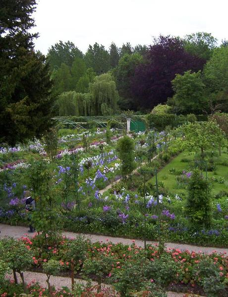 Claude Monet's house garden overview- Giverny - France