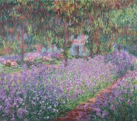 Claude Monet Garden at Giverny 1900, Musee d'Orsay, Paris