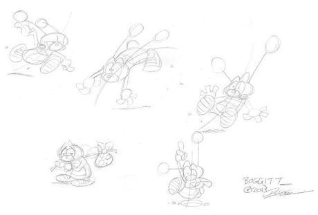 How to Draw Brabbles & Boggitt---a Tutorial
