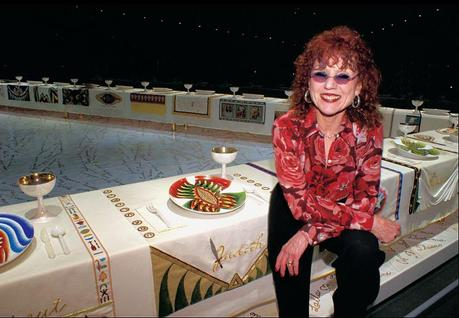 Judy Chicago at the Ben Uri Gallery