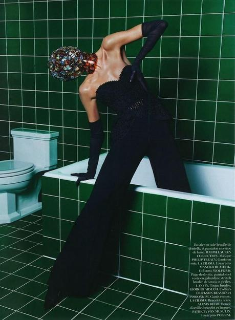 Anja Rubik by Mario Sorrenti for Vogue Paris March 2013 6