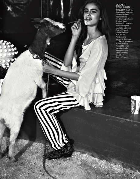 Taylor Marie Hill by Mark Pillai for Elle Italia March 2013 5