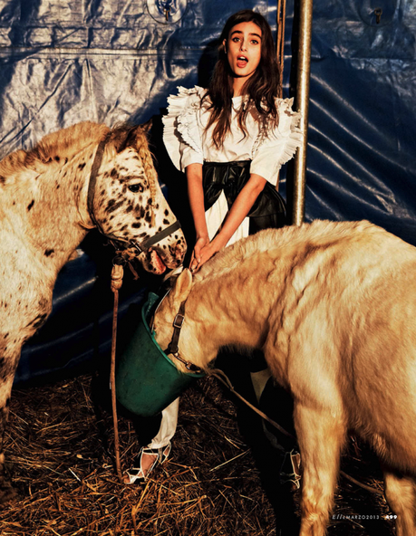 Taylor Marie Hill by Mark Pillai for Elle Italia March 2013 3
