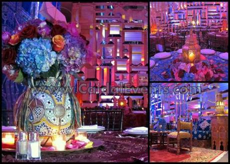 Astor Ballroom of the St Regis Bal Harbour in a Moroccan Theme by Caidal Events