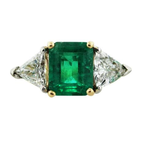 Rocks And Co Emerald Ring
