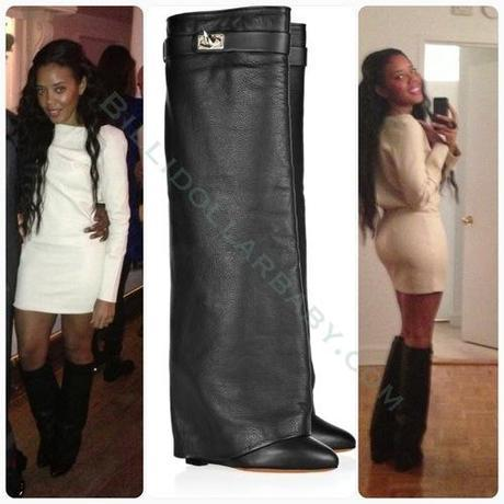 Celeb Style: Angela Simmons in Givenchy Angela Simmons posted a...