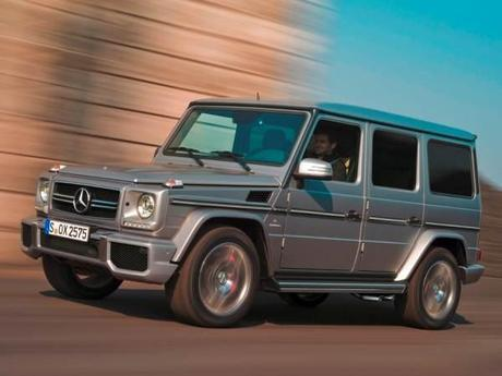 AMG G63 Looking Tough - image courtesy kbb