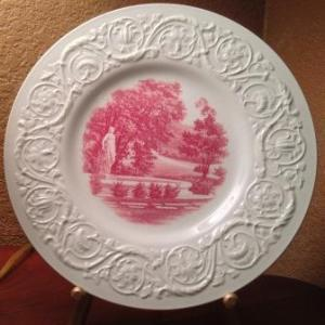 Wedgwood Lanning Fountain plate