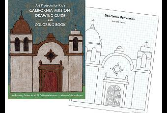 California Mission Drawing Guide Paperblog