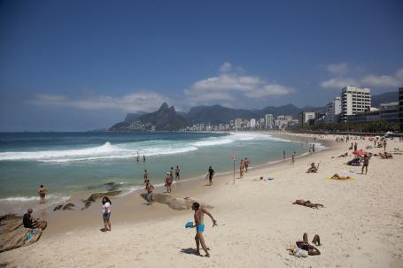 One last knees up. Rio de Janeiro, Brazil