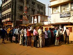 Job seekers. Bishnupur, West Bengal