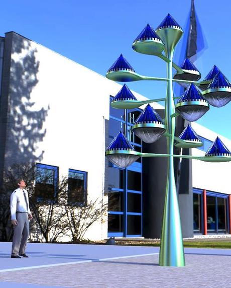 Spinning Blue Cones Could Be The Solar Panels Of The Future!