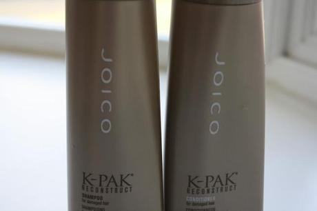 Haircare Series #3 Joico K-Pak Reconstruct