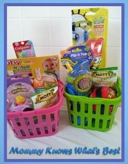 Easter Basket Ideas for Toddlers and Preschoolers