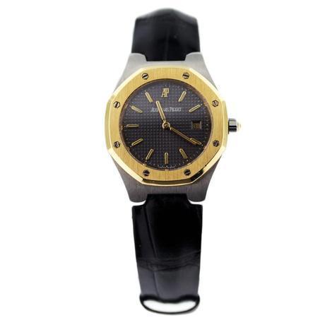 Pre-owned Audemars Piguet Royal Oak Two Tone Ladies Watch