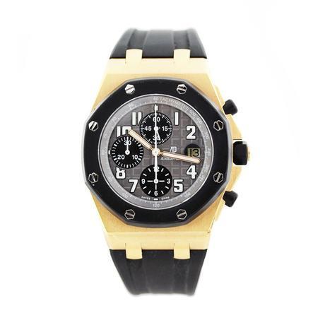 Audemars Piguet Royal Oak Offshore 18k Rose Gold Men's Watch, rose gold audemars