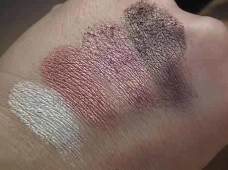 New Look Gold By Giles Buff Eye Shadow Palette Swatches