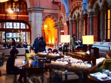 Playtime with Chobani and Nuffnangx at the Renaissance St. Pancras Hotel - King's Cross - London