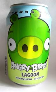 Angry Birds Lagoon - Apple & Pear Drink (CyberCandy)