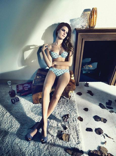 Isabeli Fontana for the winter 2013 campaign from Un.i Lingerie by Gustavo Zylbersztajn   5