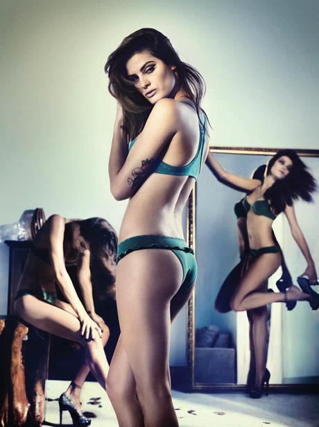 Isabeli Fontana for the winter 2013 campaign from Un.i Lingerie by Gustavo Zylbersztajn   4