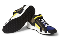 Wet Suit Not Included:  Pierre Hardy Panelled Neoprene Sneakers