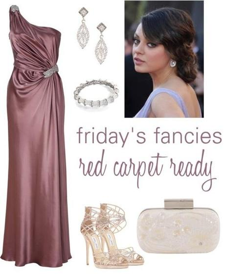 friday's fancies: red carpet ready.