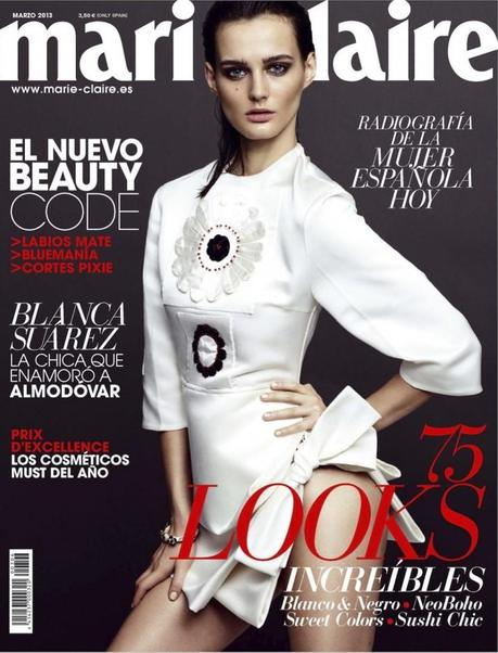 Sibui Nazarenko For Marie Claire Spain March 2013 By Benjamin Vnuk