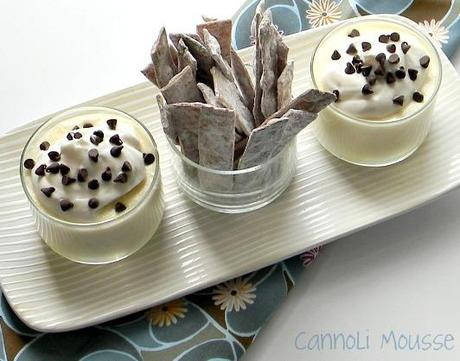 The Godfather Cannoli Cheesecake Mousse