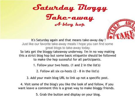 Saturday Bloggy Takeaway – Come & link up your blog!