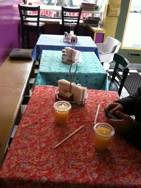 orange juice, paisley and influenza