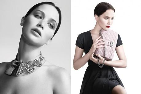 Jennifer Lawrence for Miss Dior campaign by Willy Vanderperre